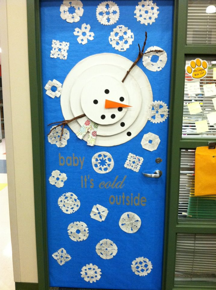 Classroom Door Decoration Ideas For January : Maestraemamma idee per decorare l aula natale porte